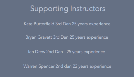 Supporting instructors